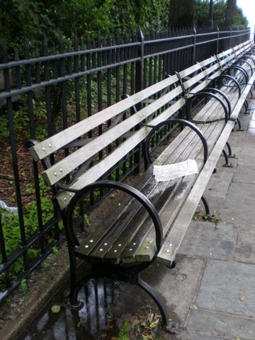 Promenade Benches, 2007